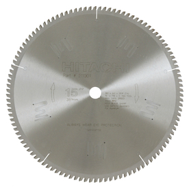 Hitachi 15-in Wet or Dry Standard Circular Saw Blade