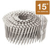 Hitachi 900-Count 0.09-Gauge 2.25-in Stainless-Steel Fiber Cement Siding Nails