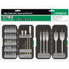 Hitachi 50-Piece Screwdriving Bit Set with Bonus Spade Bits