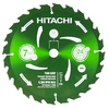 Hitachi 7-1/4-in 24-Tooth Wet or Dry Standard Tooth Carbide Circular Saw Blade