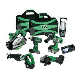 Hitachi 6-Tool 18-Volt Lithium Ion Cordless Combo Kit