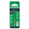 Hitachi 1/4-in Metal Twist Drill Bit