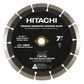 Hitachi 7-in Wet or Dry Segmented Circular Saw Blade