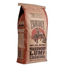 Cowboy Charcoal 20-lb Hardwood Lump Charcoal