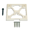 UBS 4-3/8-in PVC Quick-Mount Porch Post Fastener