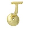 SafeRail Bright Brass Steel Line Handrail Brackets