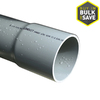 JM Eagle Non-Metal PVC 10-ft Conduit (Common: 2-in; Actual: 2.06-in)