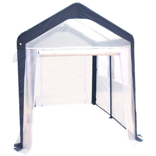 Cheap spring garden flowerhouse pop up greenhouses at for Walk in greenhouse big lots