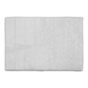 allen + roth 24-in x 17-in Memory Foam White Polyester Bath Mat