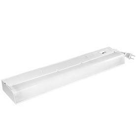 Utilitech 18-in Plug-In Under Cabinet Fluorescent Light Bar