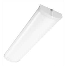 Portfolio White Ceiling Fluorescent Light ENERGY STAR (Common: 2-ft; Actual: 24.37-in)