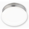Portfolio 8-in Brushed Nickel Ceiling Fluorescent Light ENERGY STAR