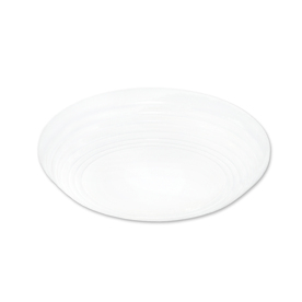 Good Earth Lighting 12-in W Neptune White Ceiling Flush Mount