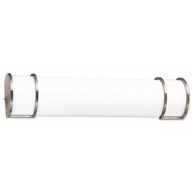 Portfolio 24-in White Flush Mount Fluorescent Light ENERGY STAR