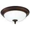 Good Earth Lighting 16-1/4-in Bronze Ceiling Flush Mount