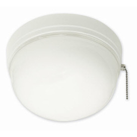 Portfolio 8-5/8-in White Flush Mount Fluorescent Light ENERGY STAR