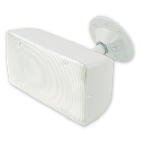 Utilitech 23-Watt White Dusk-To-Dawn Security Light