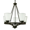 Good Earth Lighting 5-Light Taos Dark Bronze Chandelier