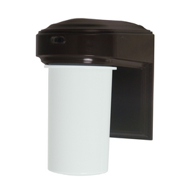 Utilitech 13-Watt Bronze Dusk-to-Dawn Security Light