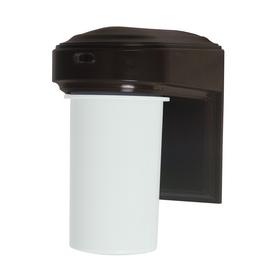 Utilitech 13-Watt Bronze CFL Dusk-To-Dawn Security Light