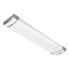 Portfolio 48-in Brushed Aluminum Ceiling Fluorescent Light ENERGY STAR