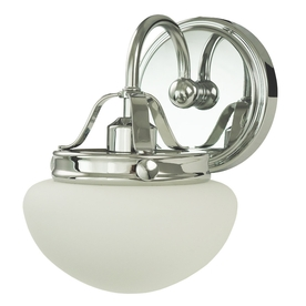 allen + roth Bostonian Chrome Bathroom Vanity Light