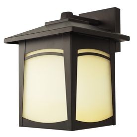Good Earth Lighting 11.5-in H Dark Bronze Outdoor Wall Light