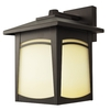 Good Earth Lighting 11-1/2-in Dark Bronze Outdoor Wall Light