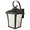 Good Earth Lighting 14-1/2-in Black Outdoor Wall Light