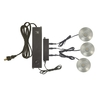 Utilitech 3-Pack Plug-In Cabinet Led Puck Light Kit