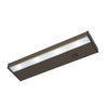 Good Earth Lighting Designer 14.12-in Hardwired/Plug-In Under Cabinet LED Light Bar