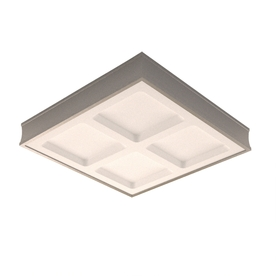 allen + roth 26-1/4-in Steel Paint Ceiling Fluorescent Light ENERGY STAR