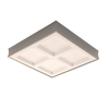 allen + roth Los Angeles Steel Paint Ceiling Fluorescent Light ENERGY STAR (Common: 2-Ft; Actual: 25.5-in)
