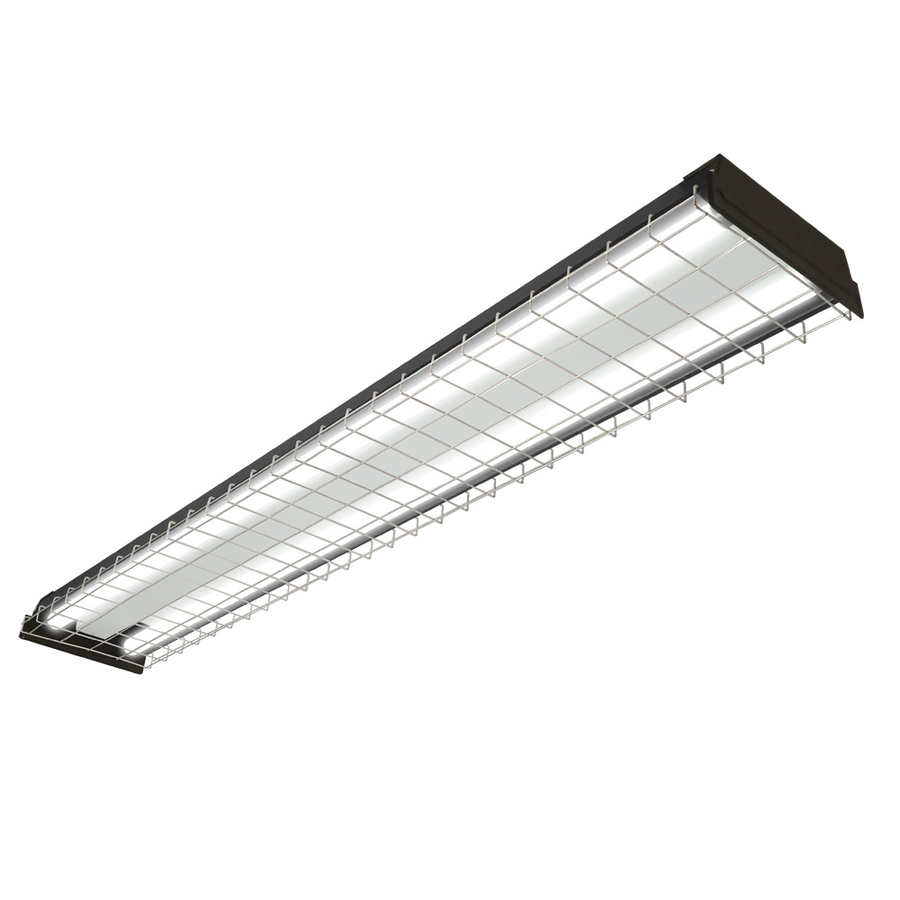 Shop Utilitech Fluorescent Shop Light (Common: 4-ft