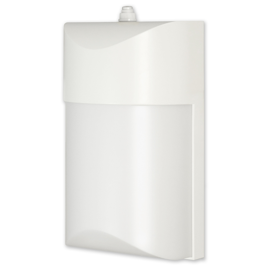 shop utilitech pro 10 4 watt white led dusk to dawn. Black Bedroom Furniture Sets. Home Design Ideas