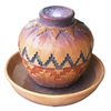 Garden Treasures Southwestern 1-Tier Fountain or Birdbath