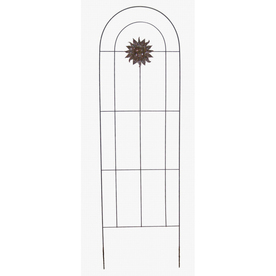 "Garden Treasures 72"" Copper Sun Trellis"