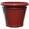  12.56-in H x 15-in W x 15-in D Red Plastic Planter