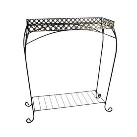  30-in Plant Stands 2-Tier Plant Stand