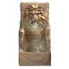Garden Treasures 38.58-in Fiberglass Wall Fountain