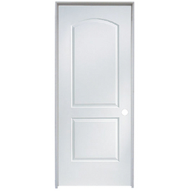 "ReliaBilt 36"" x 80"" Molded Hollow Composite Right-Hand Interior Single Prehung Door"