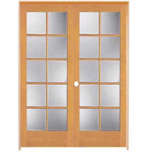 Lowes interior french glass doors french doors for Interior glass french doors