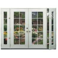 reliabilt 8 39 right hand steel entry door unit with venting sidelites