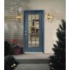 ReliaBilt Insulating Core Prehung Entry Door (Common: 36-in x 80-in; Actual: 37.5-in x 81.75-in)