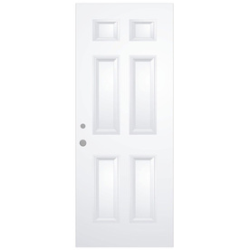 ReliaBilt 32-in 6 Panel Inswing Entry Door