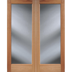 Reliabilt 60 x 80 full lite solid wood universal - Solid wood french doors interior ...