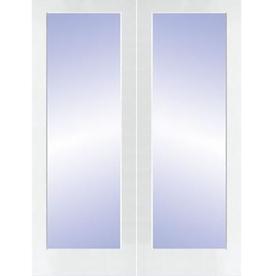 ReliaBilt Prehung 1-Lite Pine French Interior Door (Common: 48-in x 80-in; Actual: 49.5-in x 81.5-in)