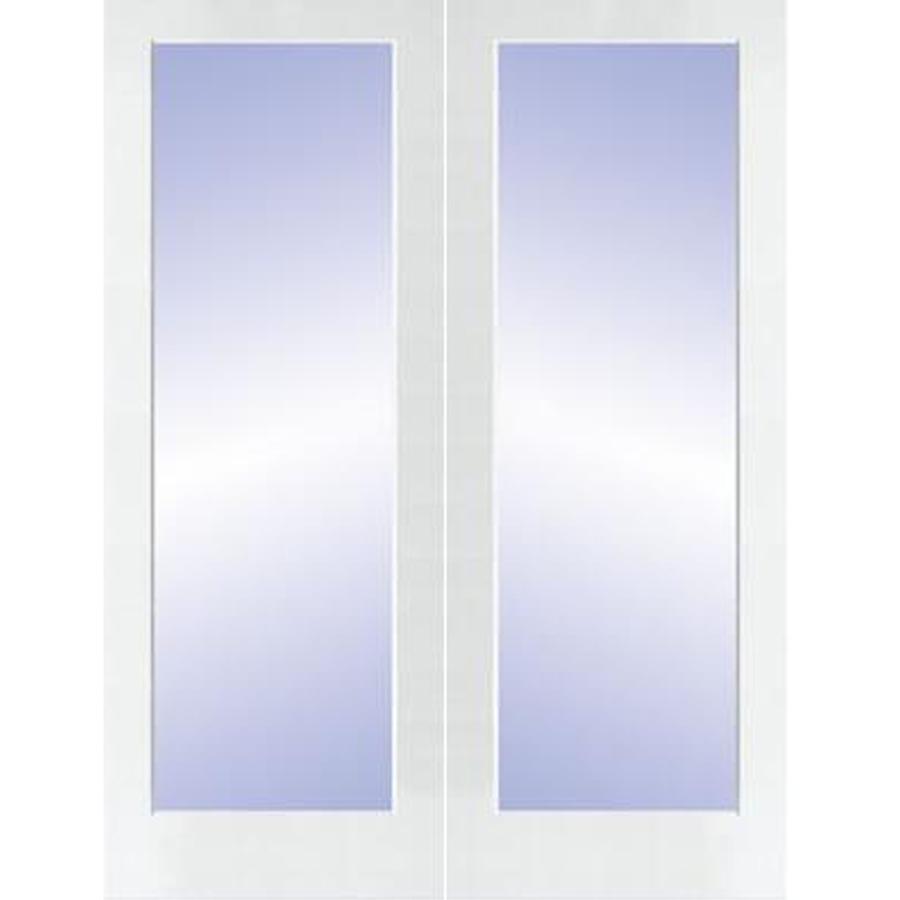 Shop Reliabilt 1 Lite Solid Core No Skin Pine Universal Interior French Door Common 80 In X