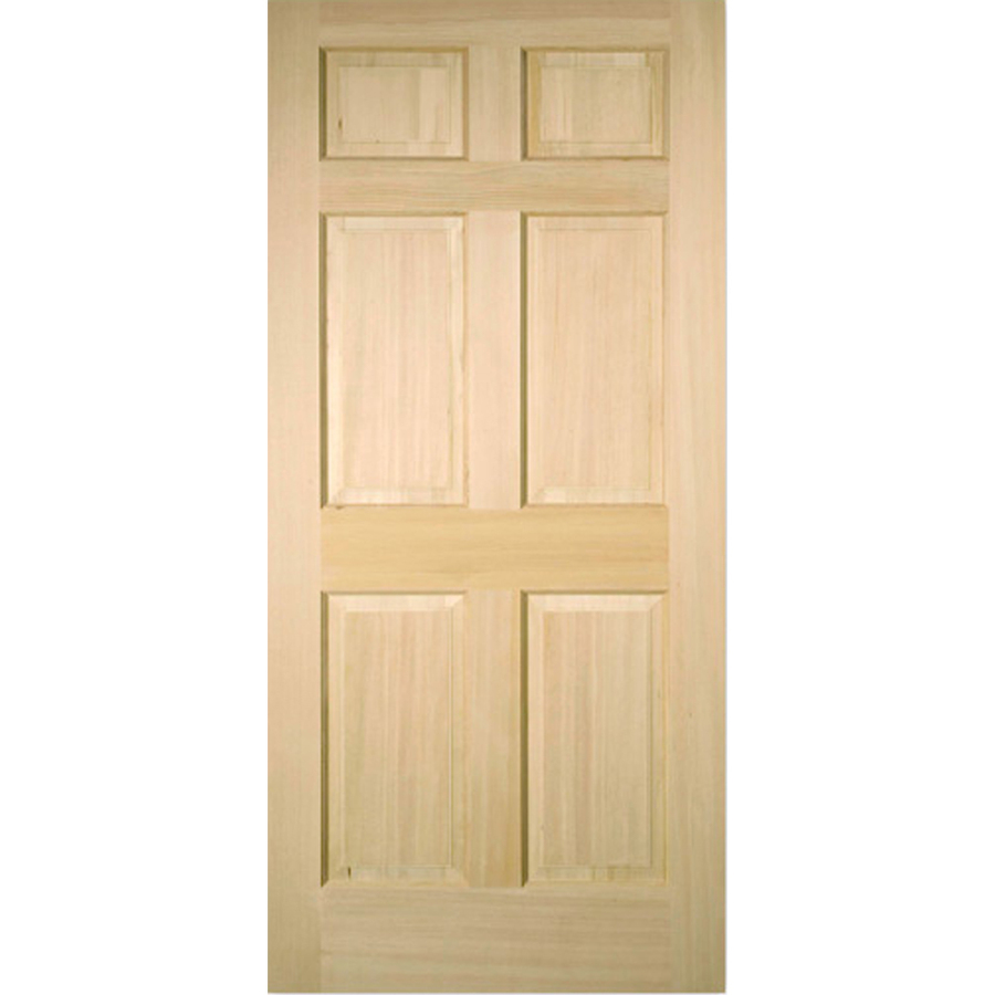 Shop reliabilt 6 panel solid core non bored interior slab door common 32 in x 80 in actual for 6 panel solid core interior doors