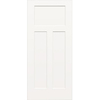 ReliaBilt 32-in x 80-in 3-Panel Craftsman Molded Composite Hollow Core Non-Bored Interior Slab Door